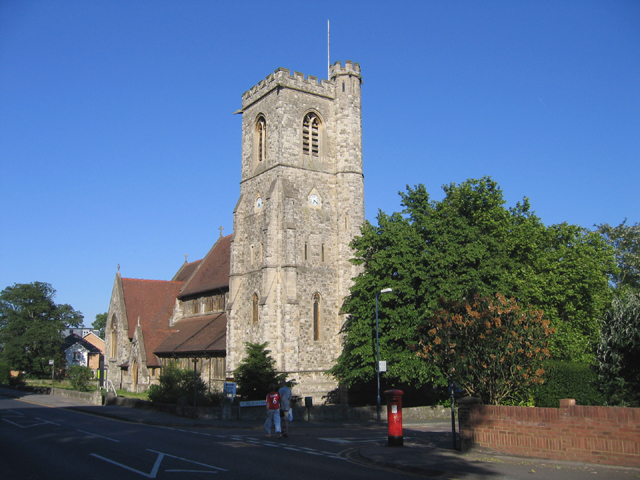 St Michael's and All Angels' Church, Maidstone, Kent