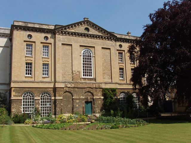 Library (rear view), Christ Church, Oxford