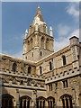 SP5105 : Cathedral, Christ Church, Oxford, from the cloisters by David Hawgood