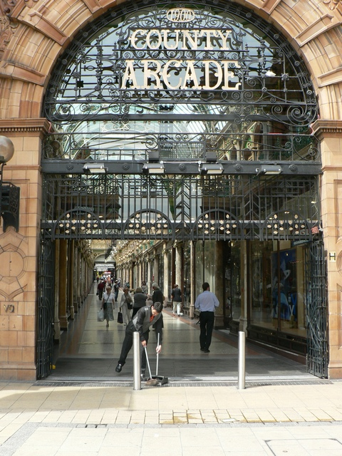 County Arcade, from Vicar Lane, Leeds