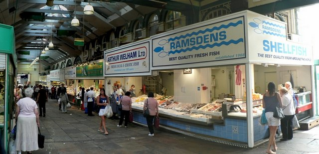 Fish Market, Kirkgate Market, Leeds