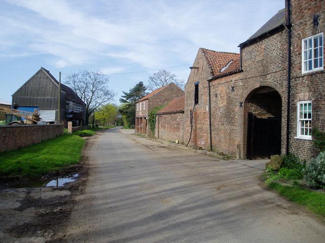 Normans Farm near Bilbrough