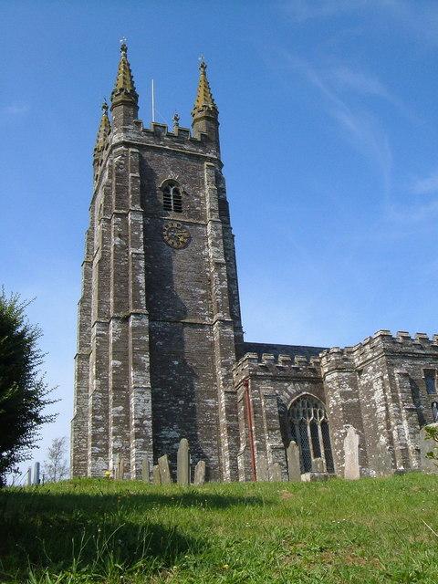 All Saints church, West Alvington