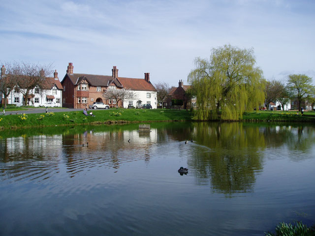 Askham Richard village pond
