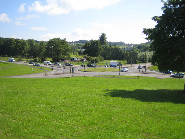Hemel Hempstead: Gadebridge Park roundabout