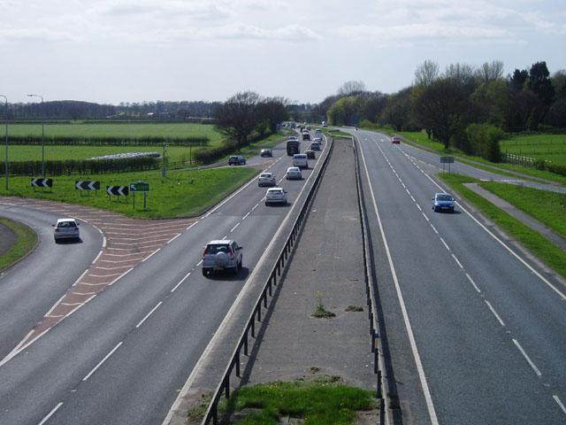 A64 near Copmanthorpe