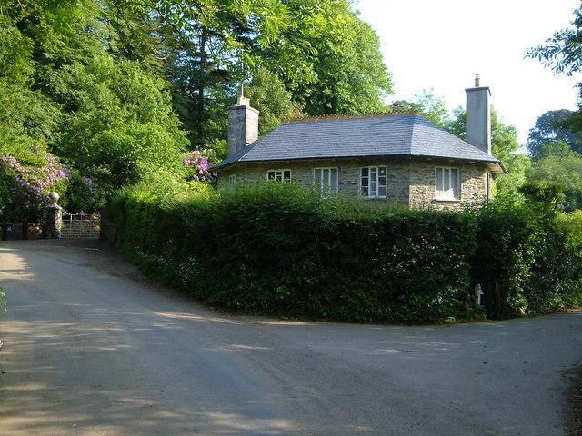 Lodge to Black Hall, near Avonwick