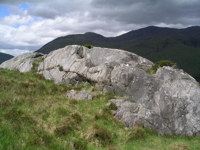 Outcrop, NNE ridge Gairich