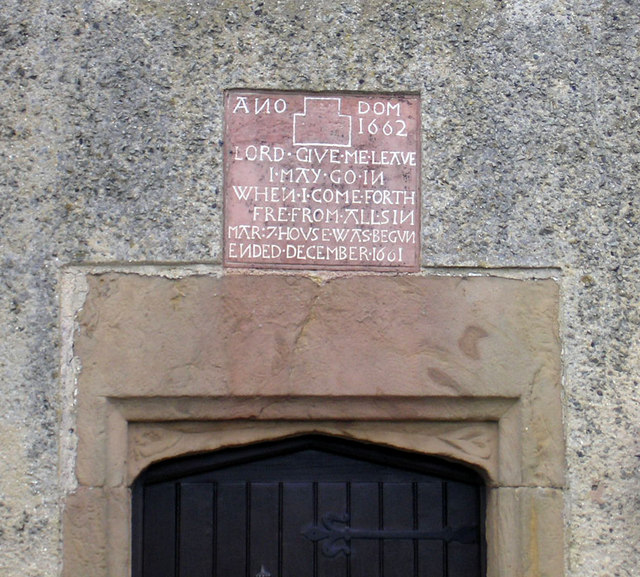 Doorway inscription