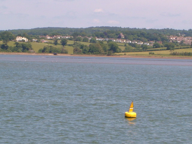 Channel marker buoy, Exe estuary