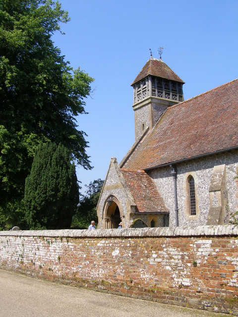 All Saints parish church, Hinton Ampner