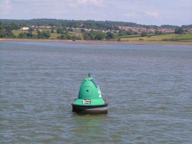 Channel marker buoy, Exe estuary