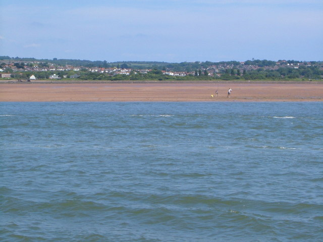 Cockle Sand, Exe estuary