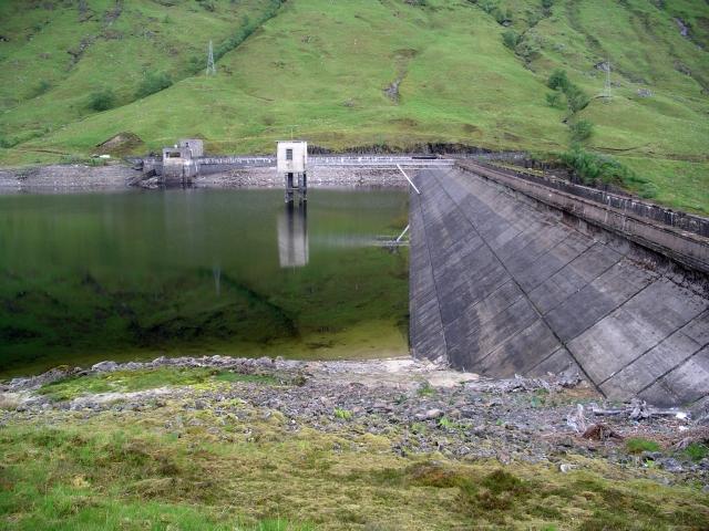 Dam, Loch Quoich
