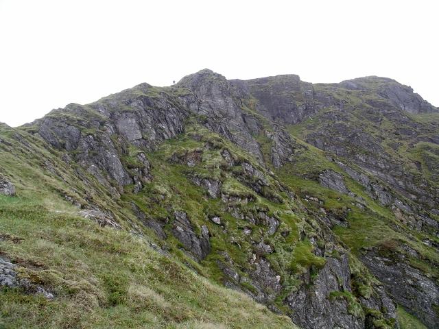 E ridge, Gairich
