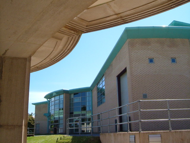 Rear of Owen Building, Exmouth Campus, University of Plymouth