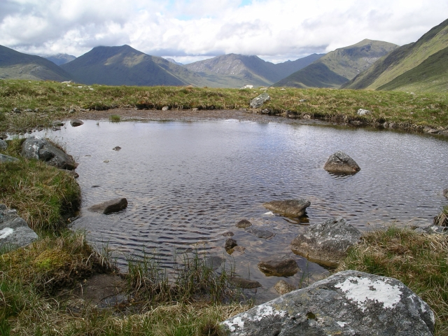 Bog pool, E ridge of Gairich