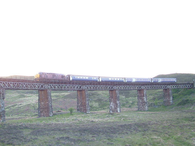 Viaduct near Rannoch Station