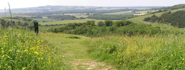 View of the Meon Valley from Old Winchester Hill