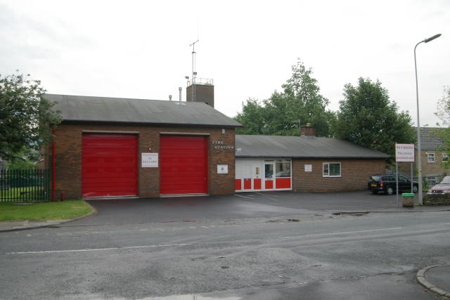 Littleborough fire station