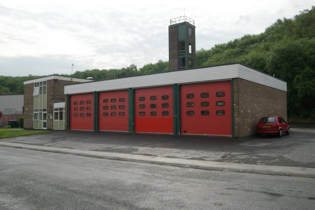 Todmorden fire station