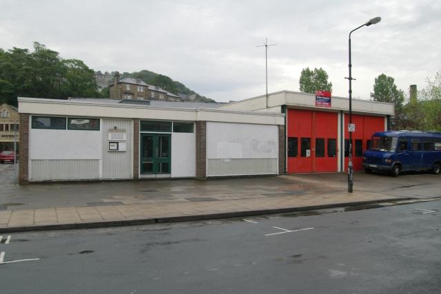 Hebden Bridge fire station