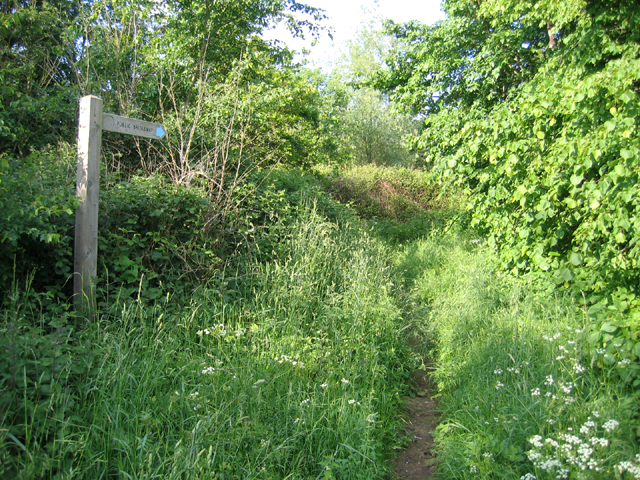Entrance to bridleway, Sutton/Potton, Beds