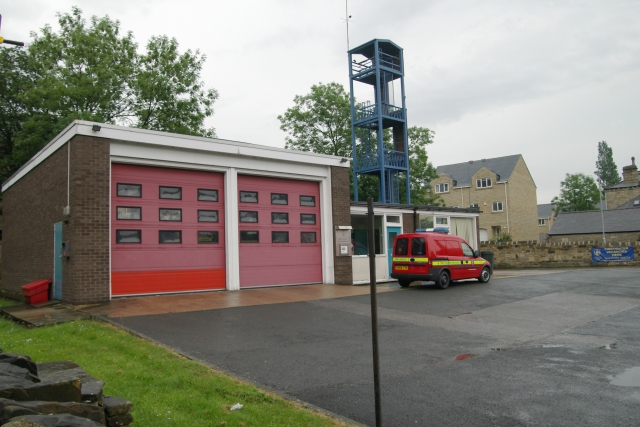 Mytholmroyd fire station