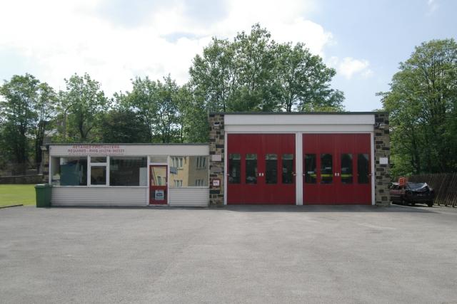 Haworth fire station