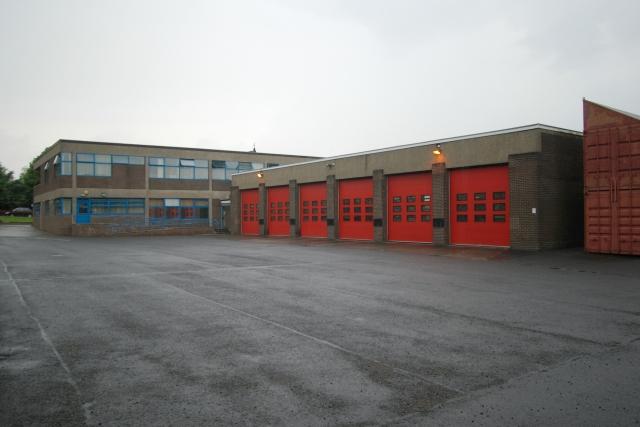 Halifax fire station