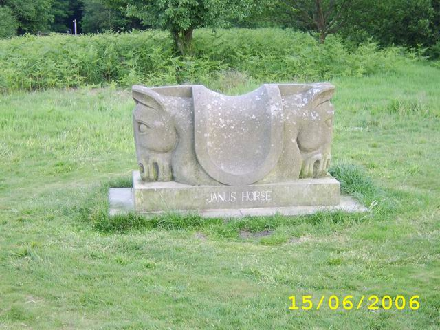 Janus Horse On Oswestry's Old Racecourse