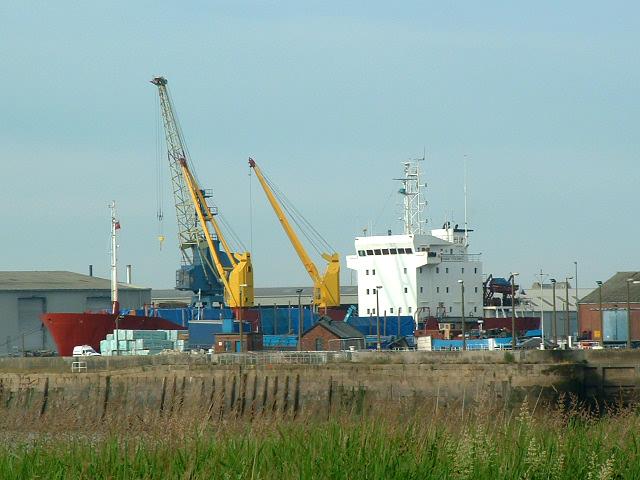 Goole Docks, Russian Timber Ship