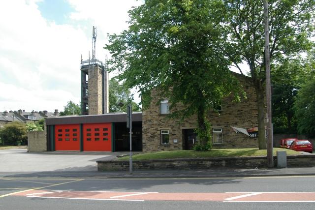 Shipley fire station