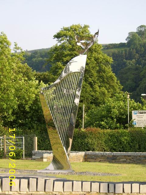 Monument Outside Llangollen Showground