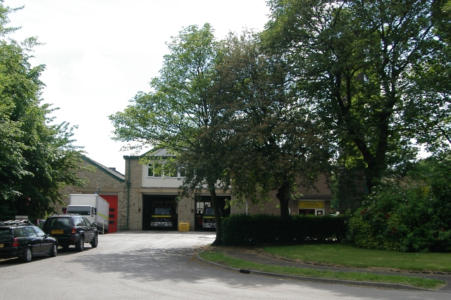Cleckheaton fire station