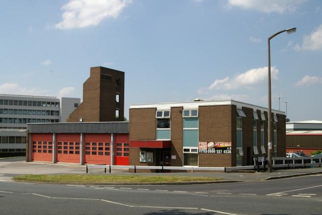 Rawdon fire station