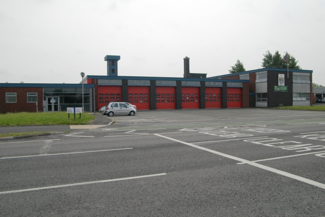 Warrington fire station