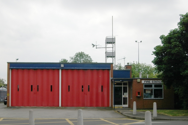 Middlewich fire station