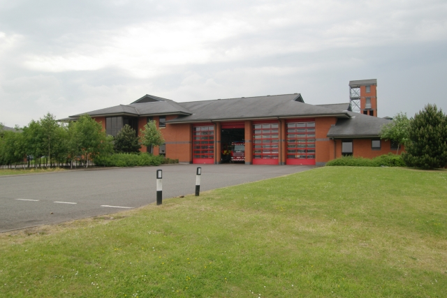 Stafford fire station