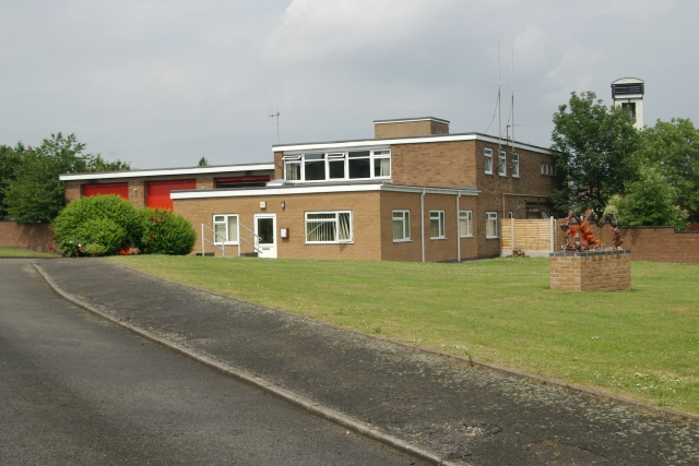 Cannock fire station