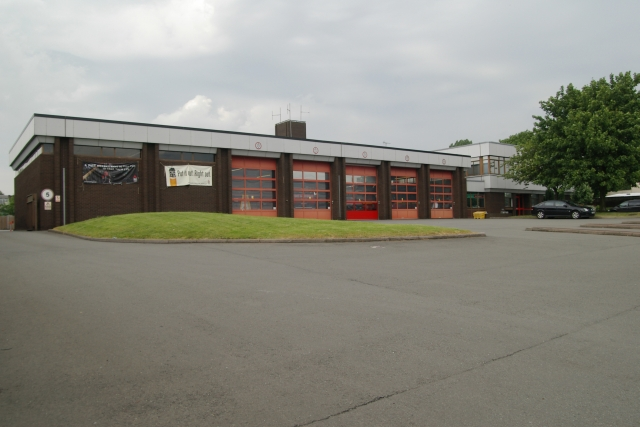 Walsall fire station
