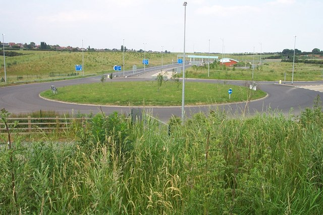 Access to M6 Toll Road