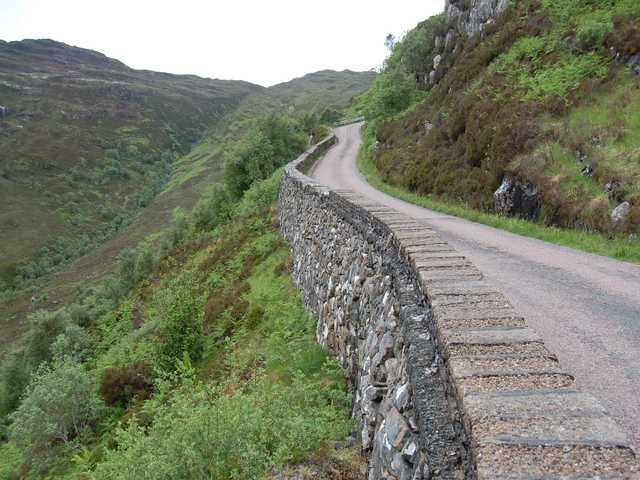 Road below Bealach Udal