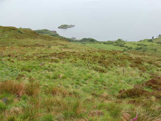 Moorland above the Sound of Sleat