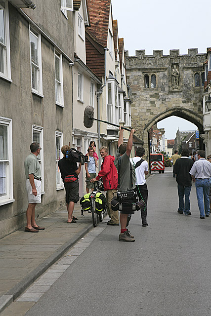 North Gate of the Cathedral Close wall, High Street, Salisbury