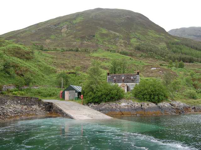 Kylerhea Ferry slipway