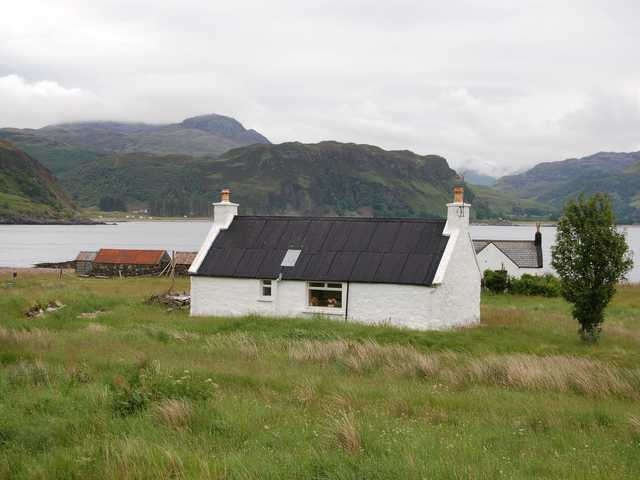 Houses at Kylerhea
