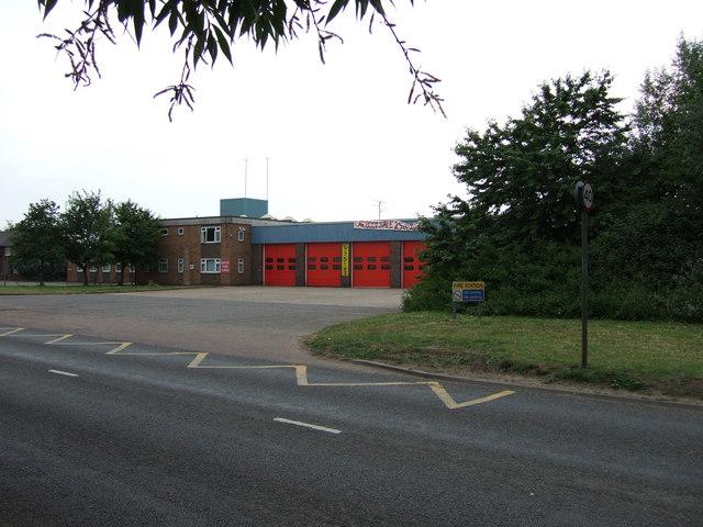Fire station, King's Lynn, Norfolk.