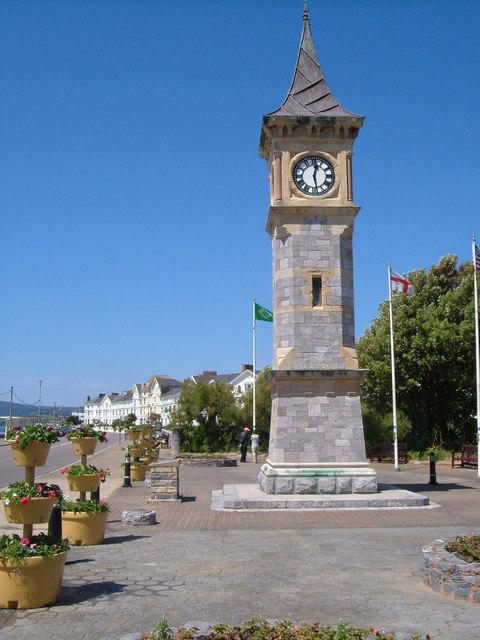 Diamond Jubilee Memorial Clock Tower, Exmouth