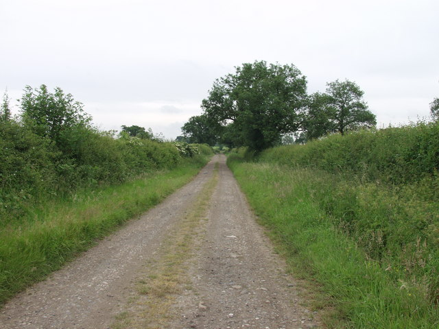 Typical North Shropshire rural access track